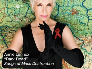See Annie Lennox's new video