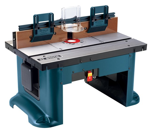 The RA1181 benchtop router is precise and versatile (click to enlarge ...