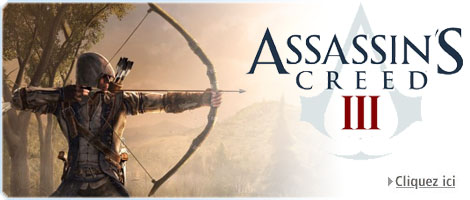 Assassin's Creed III sur PS3, Xbox 360 et PC