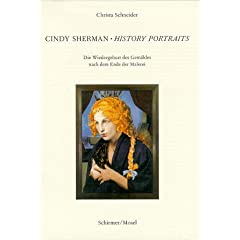 Book cover-Cindy Sherman History Portraits -- buy from Amazon.com