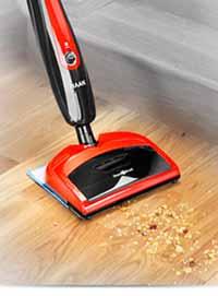HAAN HD 60 Duo Sweeper And Floor Steamer Home