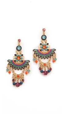 Adia Kibur Tribal Beaded Earrings