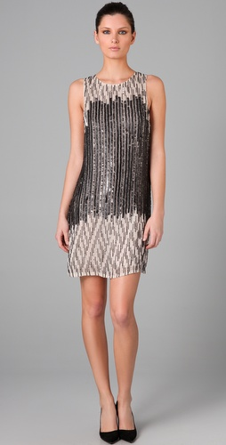 Alice + Olivia Betsy Sequined Dress