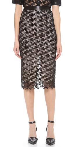 Jenni Kayne Lace Pencil Skirt