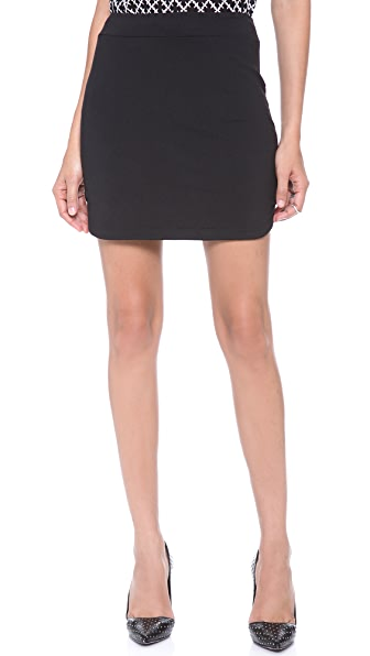 Susana Monaco Shirttail Skirt