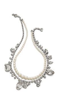 TOM BINNS Madame Dumont Inset Necklace