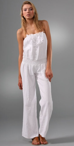 Strapless jumpsuit for summer, sexy jumpsuit for summers