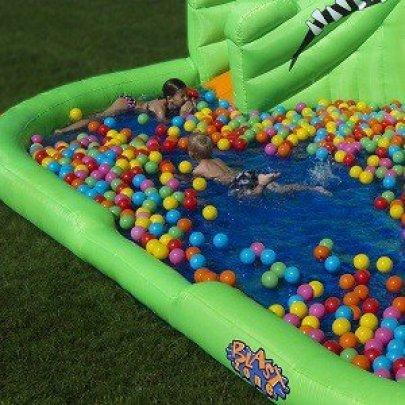 Crocodile Isle Water Park with play balls