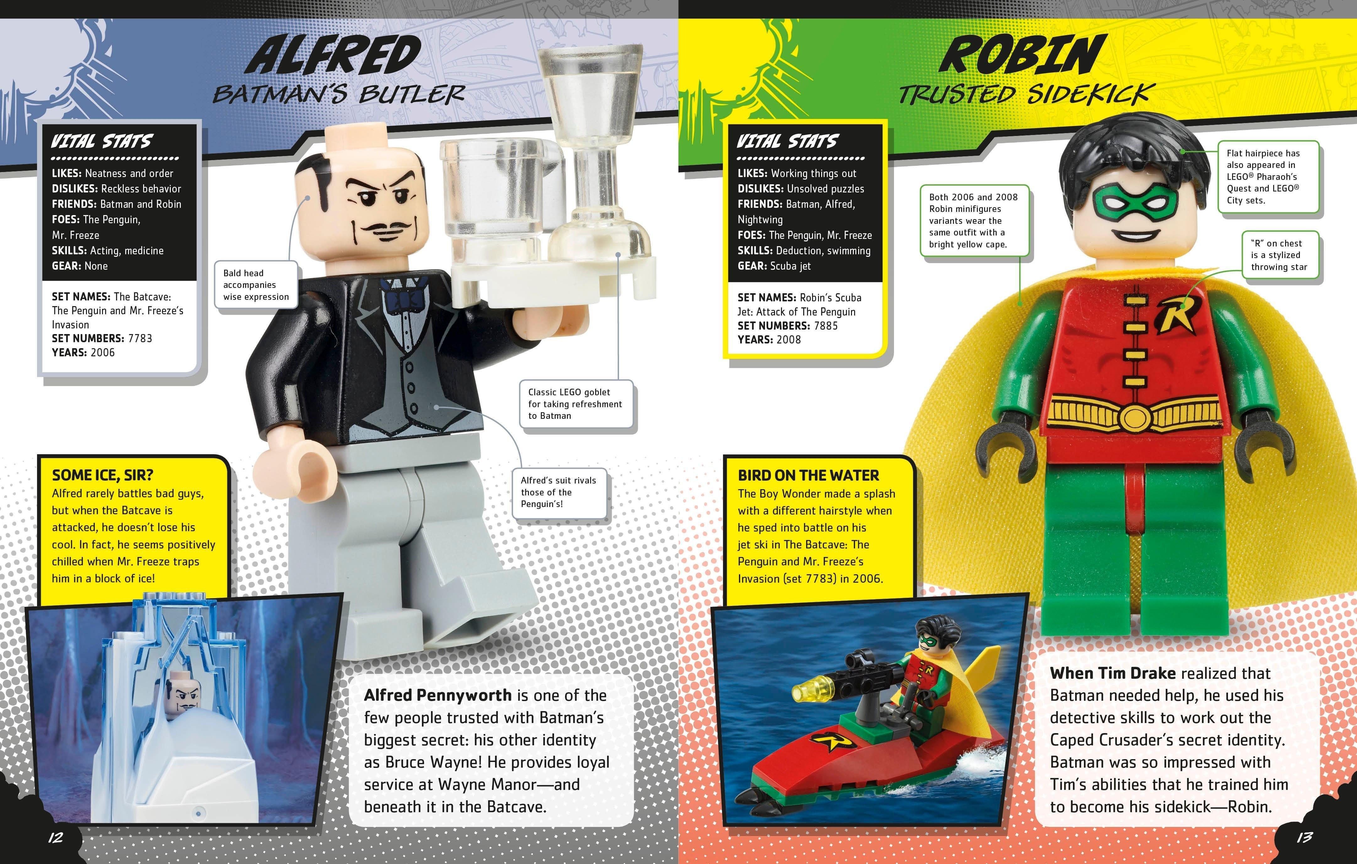 LEGO DC Comics Super Heroes Character Encyclopedia DK