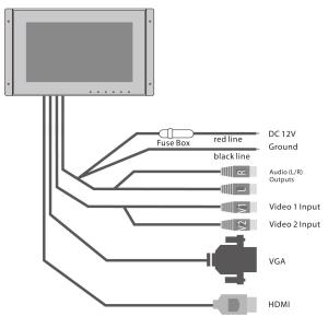 PyleHome  PLVW125U  Home and Office  TVs  Monitors