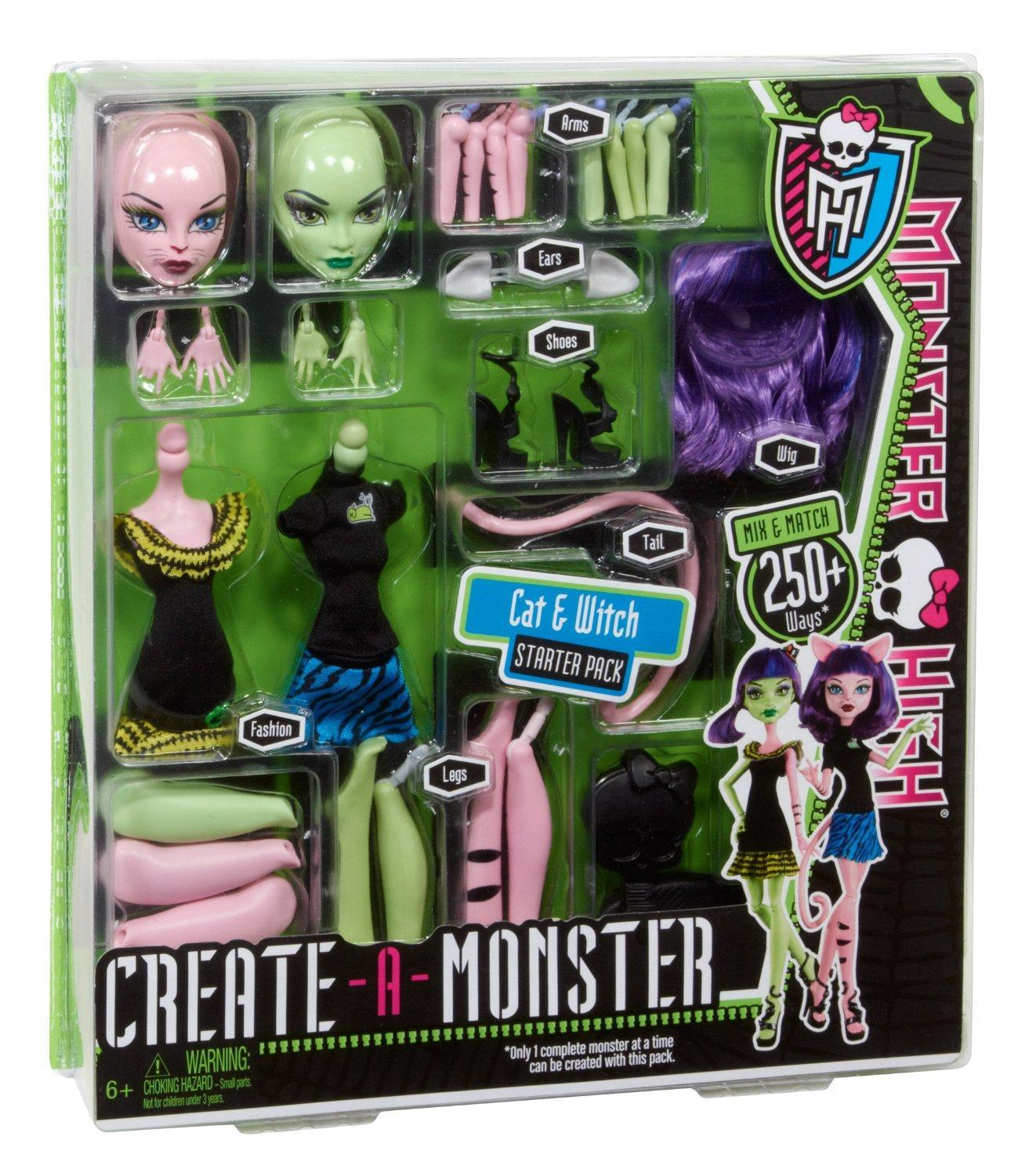 Amazon Monster High Create A Monster Witch Cat Girl