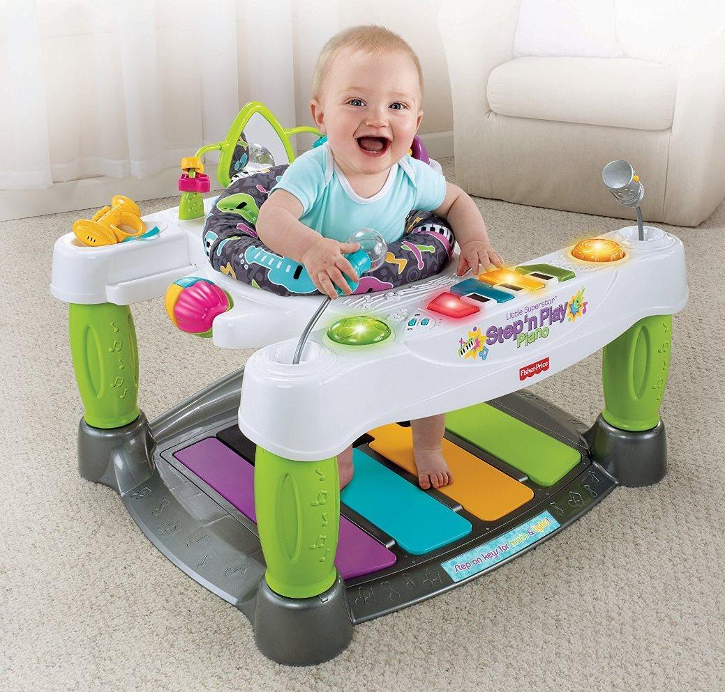 Baby Toy Piano Music Play Walker Kids Seat Infant Learn Song Keyboard Activity
