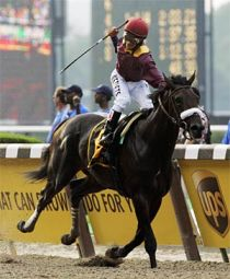 DaTara won the 2008 Belmont Stakes.