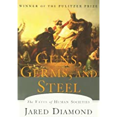 guns germs and steel critique Guns, germs, and steel 8 do you agree with jared diamond when he says of a civilizations ability to gain power, wealth, and strength, what's far more important is the hand that people have been dealt, the raw materials they've had at their disposal.