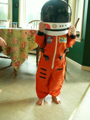 NASA Jr Astronaut Suit Halloween Costume