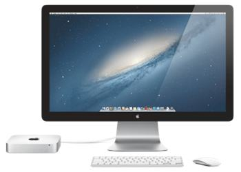 mac mini display