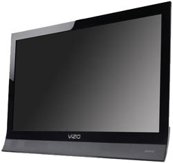 Front view of the VIZIO M190VA 19-inch 720p 60Hz LED LCD HDTV