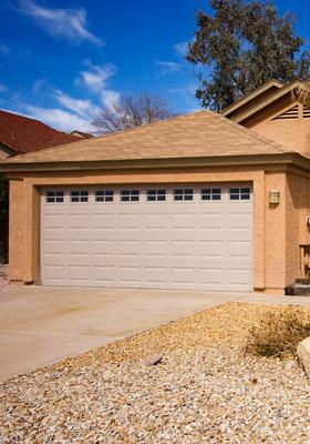 Garage Door Reconditioning with Roller Replacement