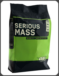 Optimum Nutrition SERIOUS MASS, Rich Chocolate