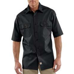 Carhartt Men's Short-Sleeve Twill Work Shirt Product Shot