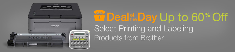 Deal of the Day: Save up to 60% on select Brother Printing and Labeling Products