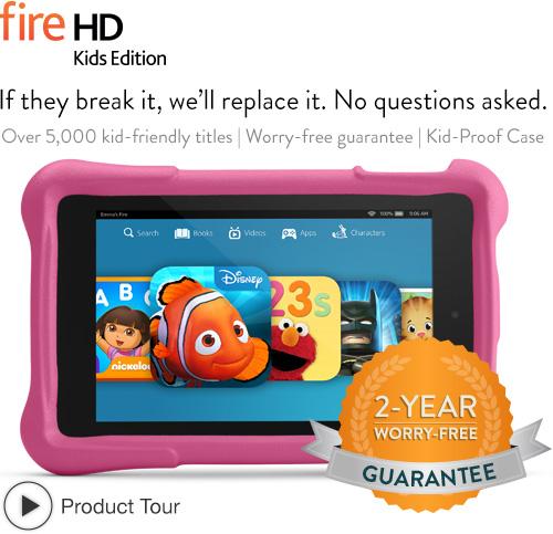 Fire HD Kids Edition: quick tour