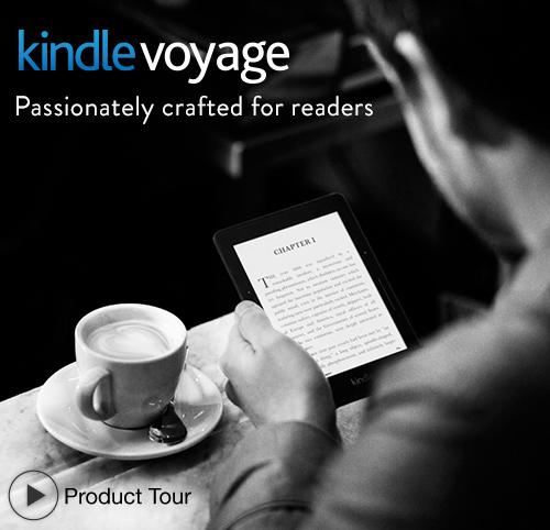 Kindle Voyage: quick tour