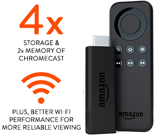 Powerful streaming media stick