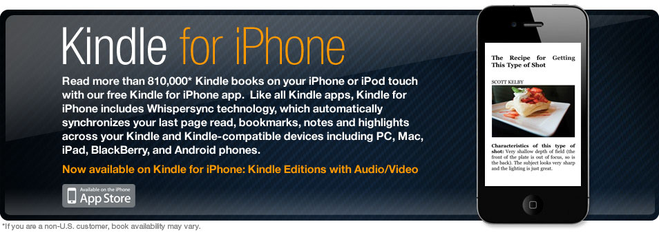 Kindle for iPhone