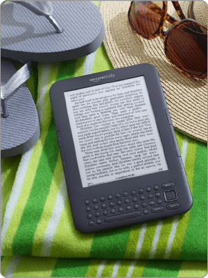 Amazon Kindle (via Amazon website)