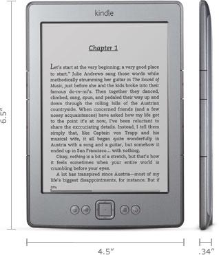 Amazon Kindle, Wi-Fi, 6'