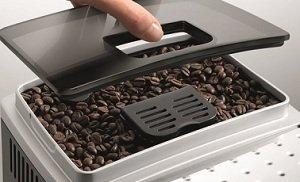 B005MMN4DG grinder 300 - DeLonghi ECAM22110SB Compact Automatic Cappuccino, Latte and Espresso Machine