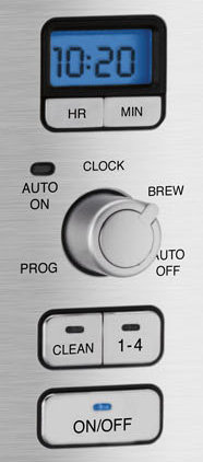 dcc3000 controls. V161956639  - Cuisinart DCC-3000 Coffee-on-Demand 12-Cup Programmable Coffeemaker