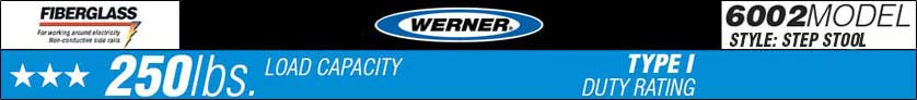 Werner 6002 Series Logo