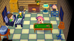 Having friends over to your house in 'Animal Crossing: City Folk'