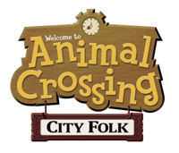 'Animal Crossing: City Folk' game logo