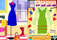 Designing outfits in 'Imagine Fashion Designer New York'