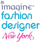 'Imagine Fashion Designer New York' game logo