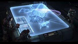 Cinematic cutscreen from 'Halo 3: ODST'