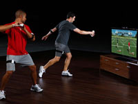 Two player challenge from EA Sports Active NFL Training Camp