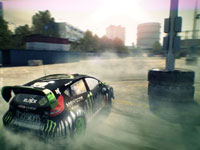 A Gymkhana event from DiRT 3