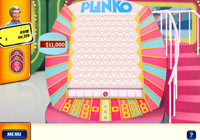 Playing Plinko in 'The Price is Right' video game