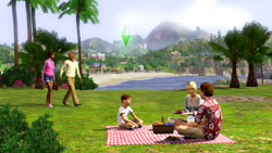 New seamless neighborhoods in 'The Sims 3'