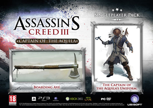 Assassin's Creed III PS3 Includes '60 Minutes of Exclusive Gameplay' 1