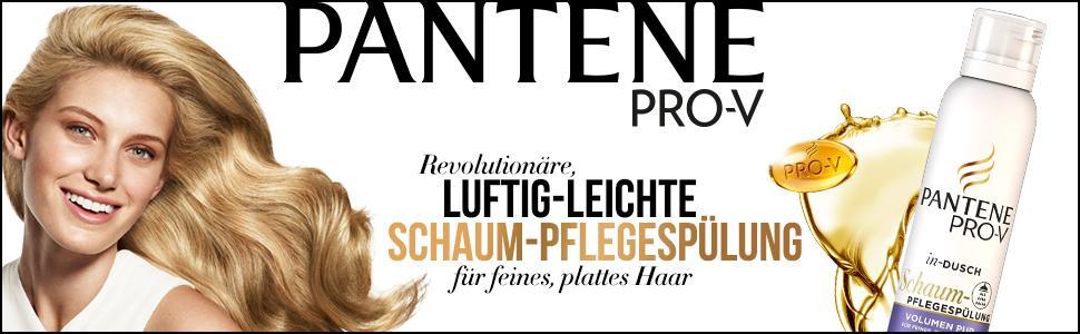 Pantene Pro-V Schaum-Pflegespülung Volumen Pur für Feines