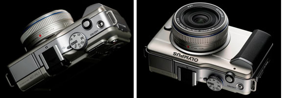 E-PL1 with 17mm pancake lens
