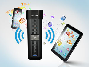 Memoria flash SanDisk Connect Wireless Media Drive