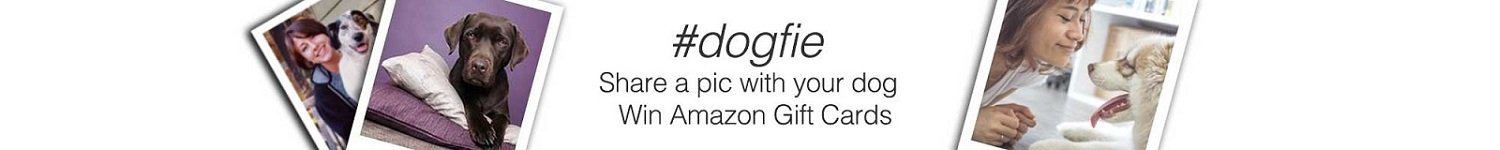 #dogfie - click a selfie and win Amazon Gift Cards