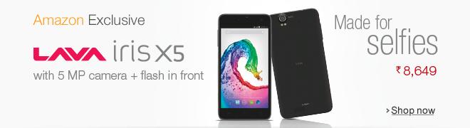 Lava iris X5 Smartphone