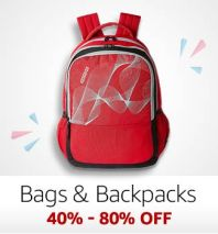 Bags & Backpacks: 40-80% off